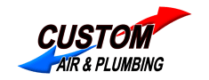 Custom Air & Plumbing logo